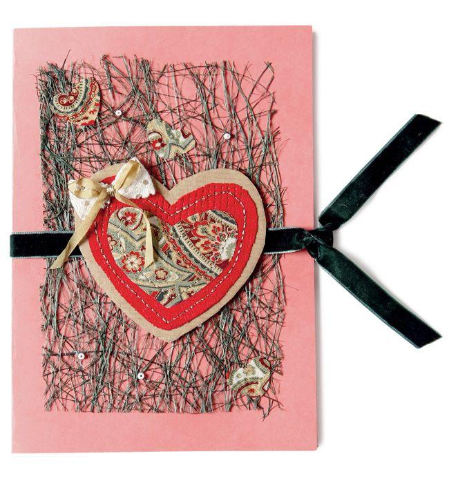 Текстильные открытки, лет