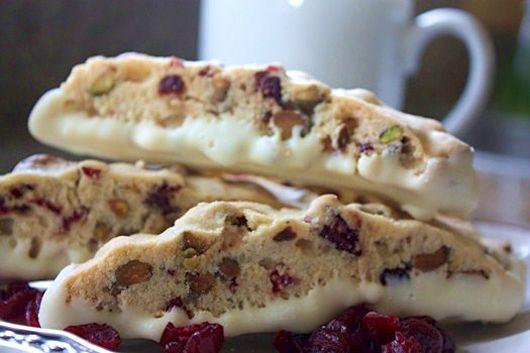 Cranberry Pistachio Biscotti | Cupcakes - Cookies - Bars | Pinterest