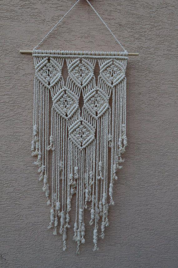 Macrame moderno decorativo hogar del colgante de pared Más
