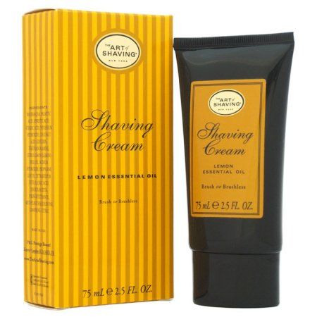 The Art of Shaving Lemon Essential Oil Shaving Cream, 2.5 fl oz