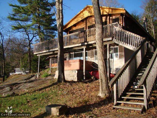 Cottage Rental Getaways - Coldwater Cottage