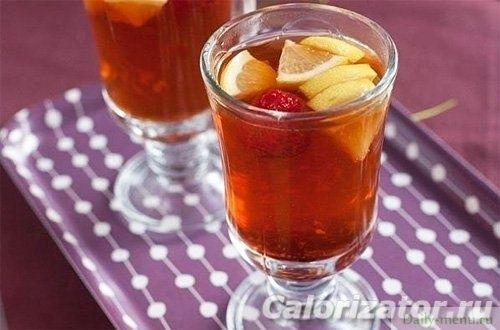 Имбирно-клубничный чай - Рецепты пользователя Milliandra - Daily-menu.ru
