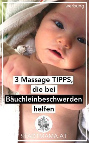 Babymassage gibt Liebe, Nähe, Beziehung, Wärme, hilft beim Entspannung und auch bei Baby Bäuchleinbeschwerden, Blähungen oder Dreimonatskoliken. Diese drei Methoden haben mir bei meinen drei Zwergen besonders gut geholfen.
