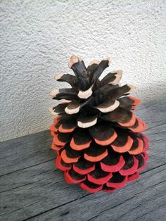 Diy Pomme de pin + Posca - Ephélidée