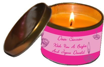 PrintLand.in – Buy Personalized Diwali Candle Jars and Tins for decoration. Order online and get free shipping across India. For more details please visit our site http://www.printland.in/category/personalized-diwali-candles