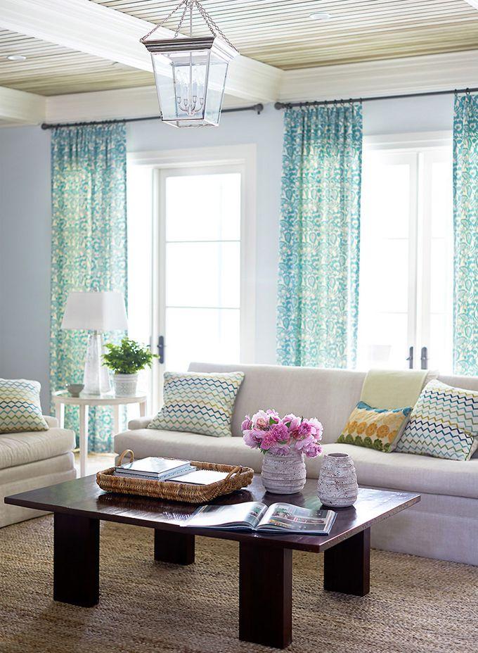 Coastal Style Living Room By Andrew Howard Interior Design