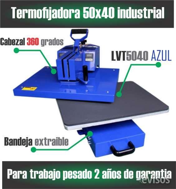Sublimadora termo fijadora de 50x40 en Medellín Maquina termo fijadora de última generación 50x40 para tra .. http://medellin.evisos.com.co/sublimadora-termo-fijadora-de-50x40-en-medellin-id-446152
