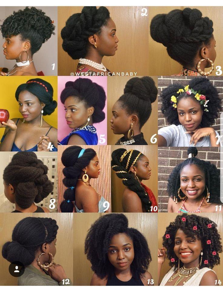 Epingle Sur Cheveux Crepus Les Accessoires