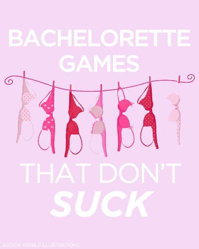 10 Bachelorette Games That Aren't Lame!