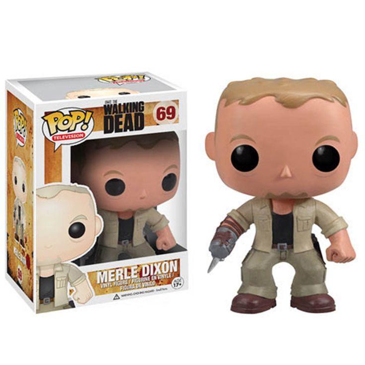 The Walking Dead POP Merle Dixon Vinyl Figure