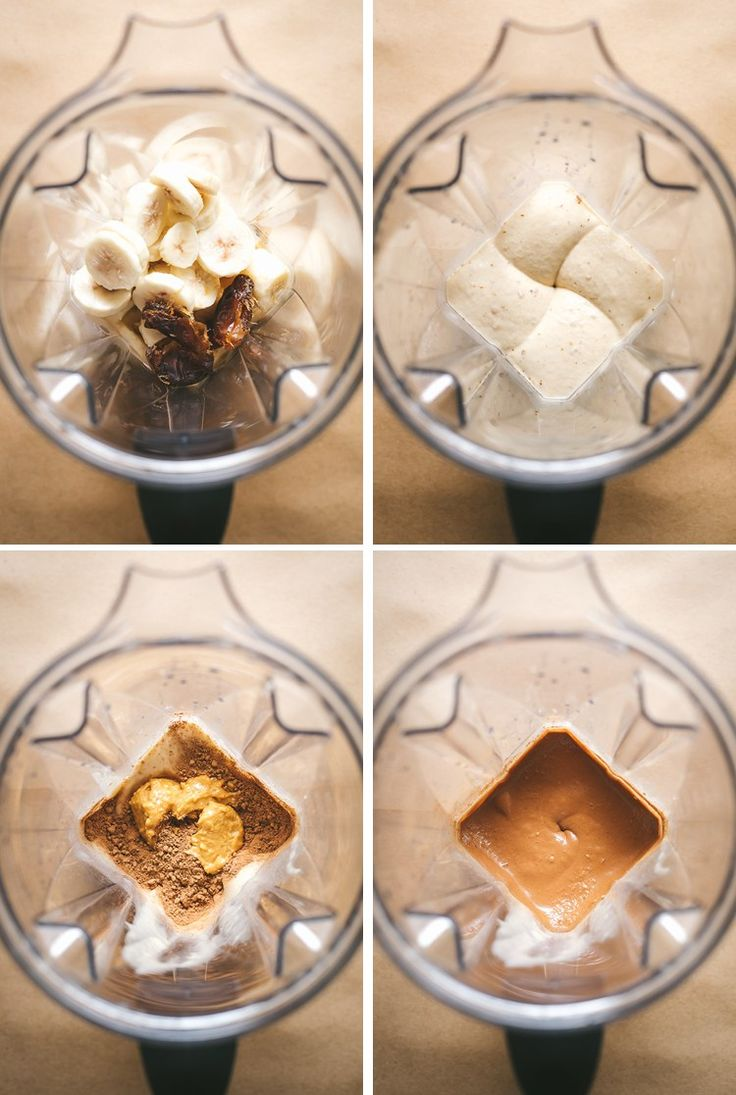 How to make N'ice Cream in your Vitamix! Try this Choco-Vanilla Bomb Recipe from the N'ice Cream Cookbook via @FaringWell