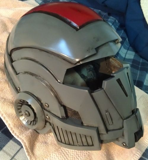 Pepakura helmet how to