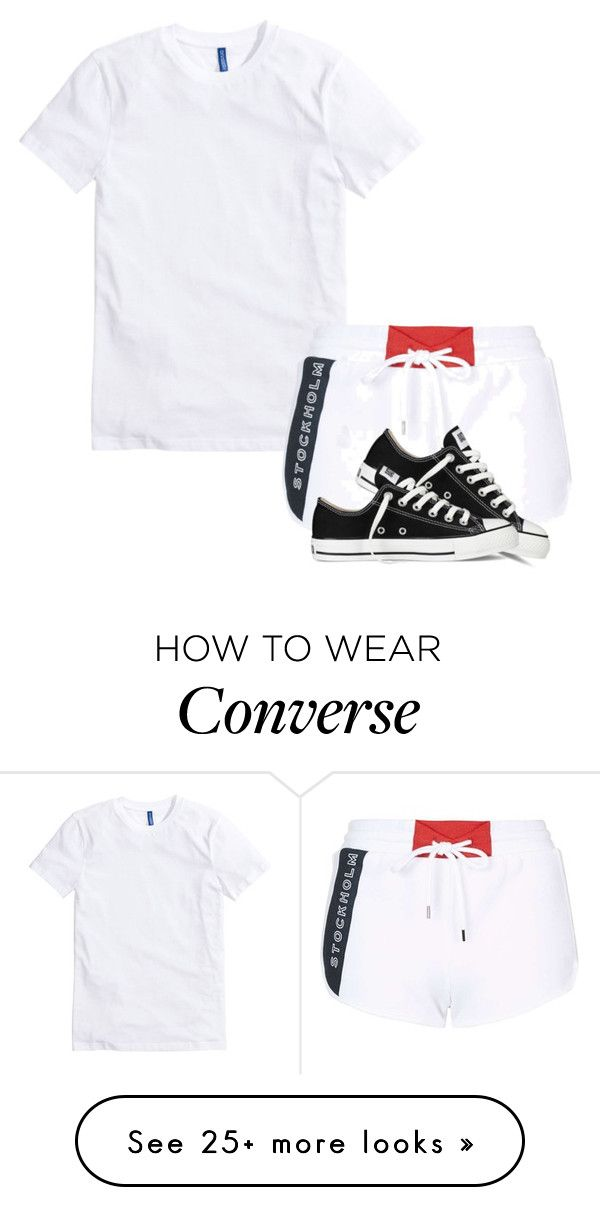 """""""."""" by siniababy on Polyvore featuring Topshop and Converse"""