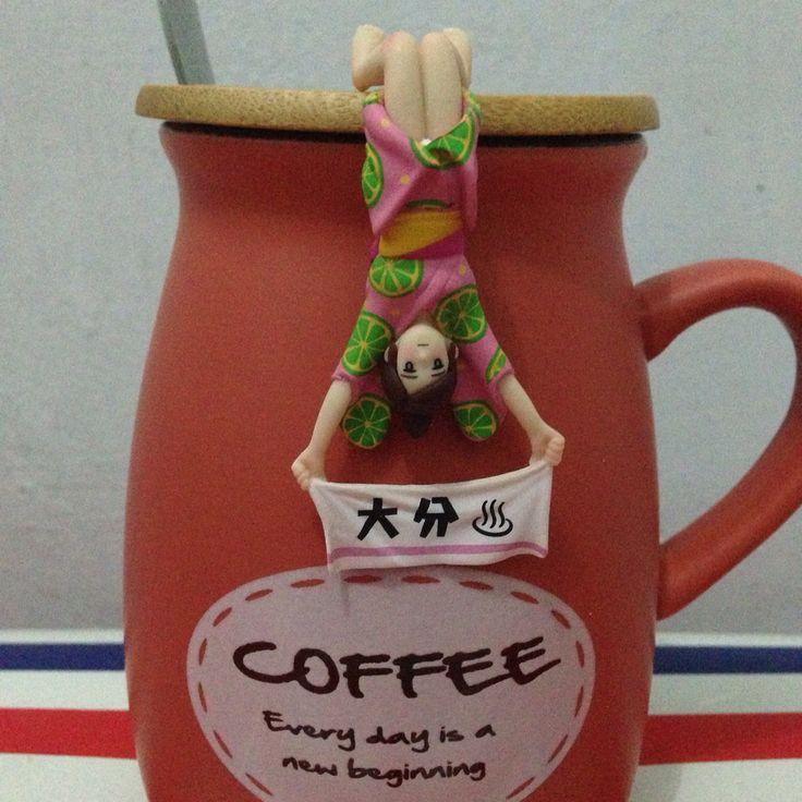 I love my new coffee mug!
