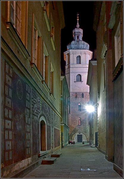 Warsaw by Night - Warsaw, Poland Copyright: Jacek Madej