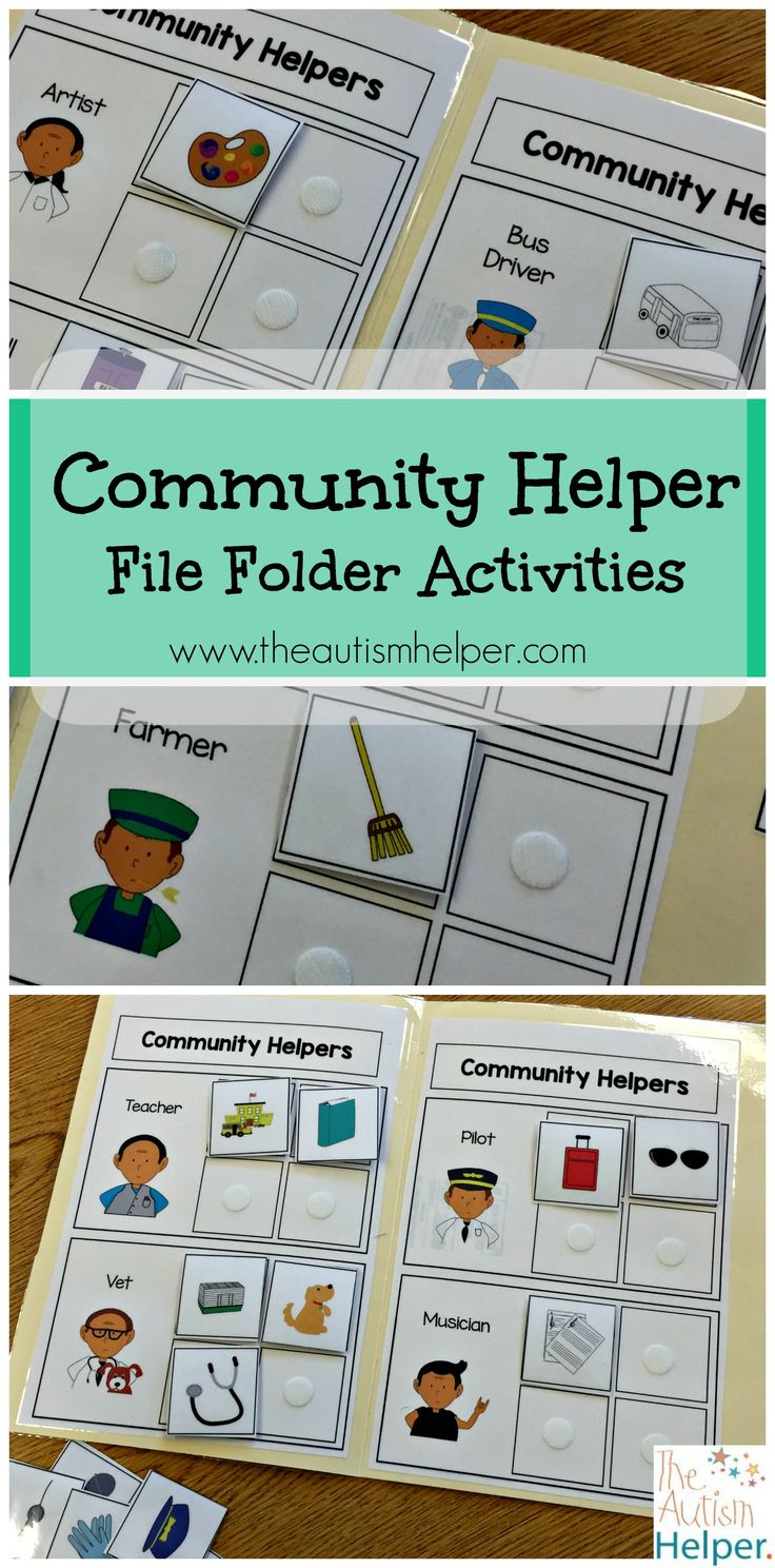 17 best Theme Therapy: Community Helpers images on Pinterest ...
