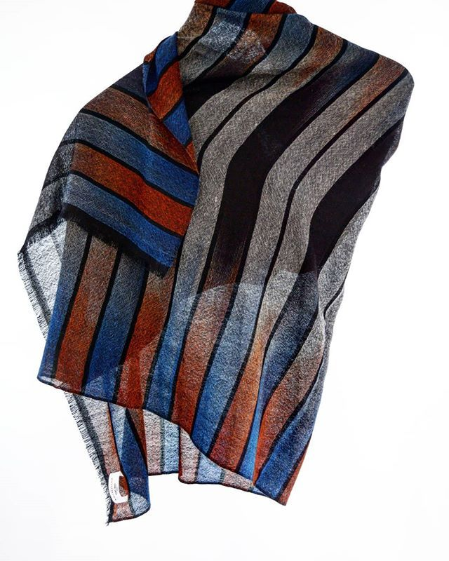 There is a misconception that cashmere is only for chilly winters but that's not true . Ultra fine cashmere product like this IKat Shawl is made for summer and also known as summer shawls. . . . . .  #fashion #fashionblogger #summershawls #fashionrevolution#branding#throwbackthursday #tbt #fairtrade #artisians #craftman #heddle #weaving #whomadeyourshawls#ecofriendly #howitsmade #handmade #madeinnepal #cashmere #pashmina #sustainable #sustainableluxury#ethicalfashion #howitamade#slowfashion #handloom #weaving #jacquard #loom #pashminastudio
