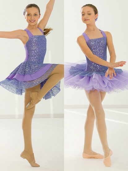 Two Worlds Collide - Style 0487 | Revolution Dancewear All-in-One Dance Recital Costume