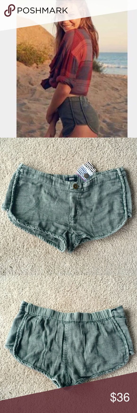❗️1 LEFT Urban Outfitters Olive Shorts NWT $39 ❗️1 LEFT Urban Outfitters Olive Shorts. NWT retails $39. Size medium. Feel free to make an offer! New Year Cleanout Sale--I consider all reasonable offers on individual items & bundles. Current bundle deal ends today!;-) Urban Outfitters Shorts