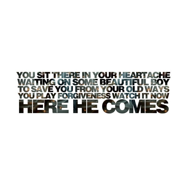 Lyrics to the killers when you were young