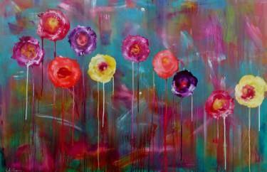 "Saatchi Art Artist Anja Saier; Painting, ""All About Poppies"" #art"