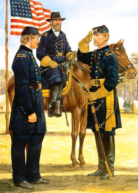 Petersburg, May 1864 • Major-General Andrew Humphreys  • Major-General John Sedgwick  • Major-General Joshua Chamberlain