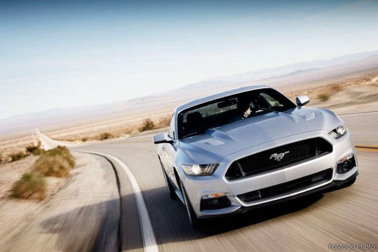Ford Mustang 2015 Front Shot - Liking the new Mustang immediately after the release.