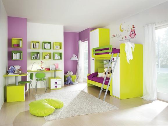 Dormitorios infantiles recamaras para bebes y ni os dormitorio minimalista para ni os y ni as - Dormitorio para ninas ...