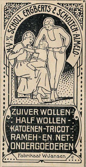 adv ondergoed 1913 | Flickr - Photo Sharing!