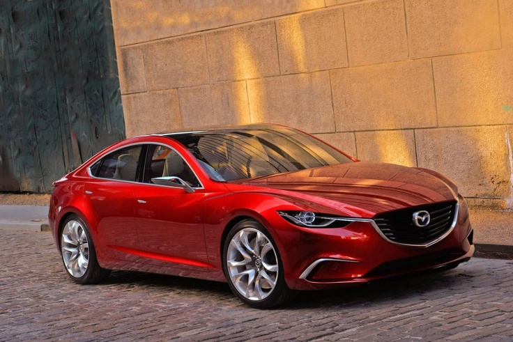 The #Mazda #Takeri concept car that greatly influenced the design cues on the all-new #Mazda6. #KODO