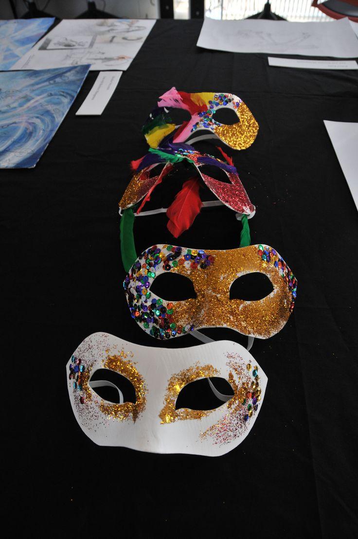 beautiful colourful masks