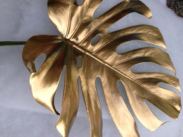 Spray Painted Leaves Events X Mrs Dlg Pinterest