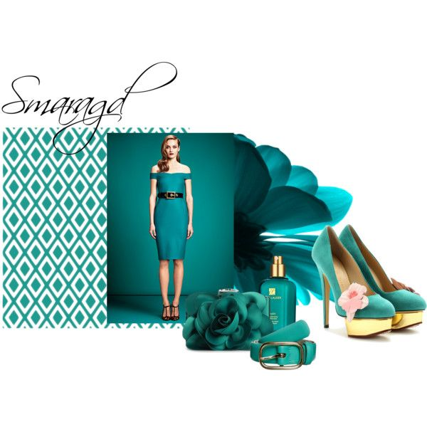 """Smaragd"" by essenceve on Polyvore"