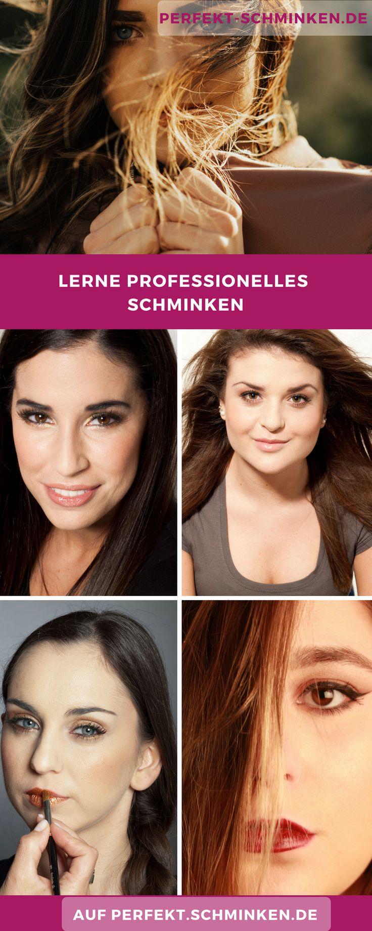 Du willst professionell schminken lernen? Bei uns kannst du es tun!