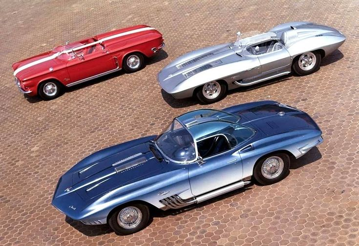 Mako Shark 59 Stingray Racer And A Corvair Corvette Concepts Pinterest