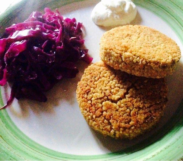 Integralmente Veg: Hamburger di quinoa, miglio e fagioli borlotti