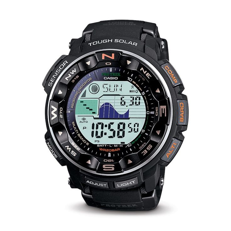 Casio Pathfinder Atomic Watch | National Geographic Store Next on the Xmas list