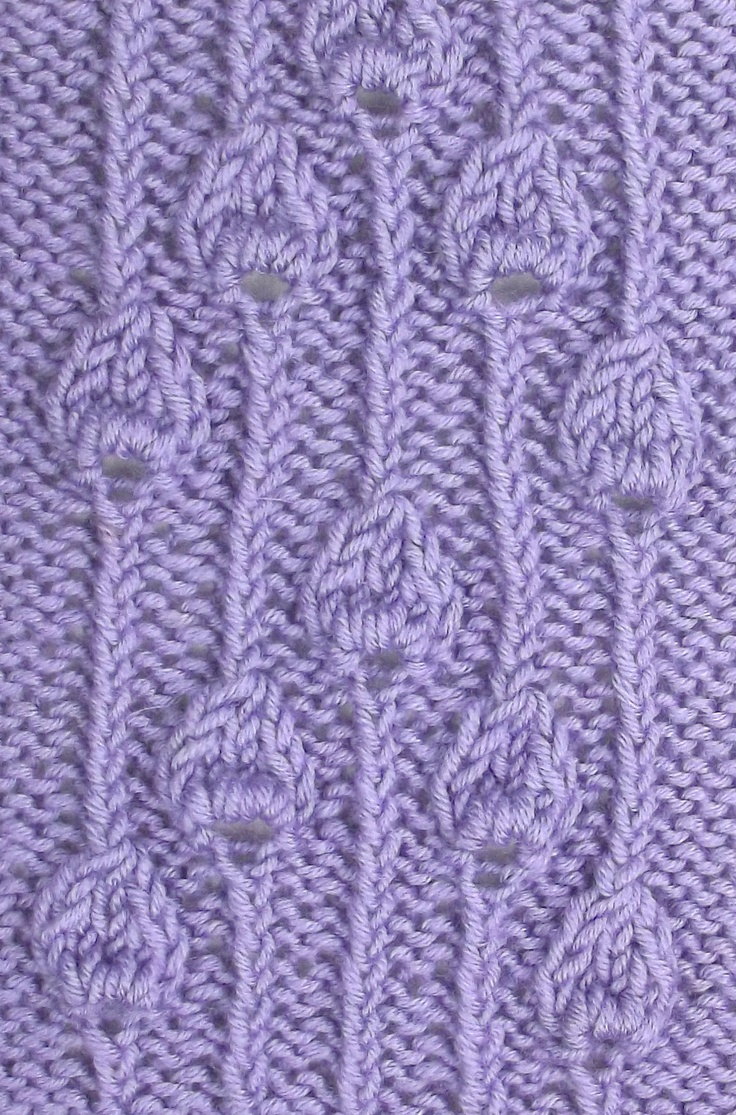 15 best december 2012 knitting stitch patterns images on pinterest embossed buds panel utilizies the same stitch in a different arrangement it is also knitting stitch patternsknitting stichesknitting bankloansurffo Images