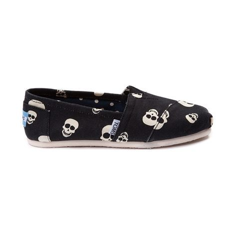 b62784d783e Shop for Womens TOMS Classic Skull Schuh Casual Shoe in Black at Journeys  Shoes. Shop today for the hottest brands in mens shoes and womens shoes a…