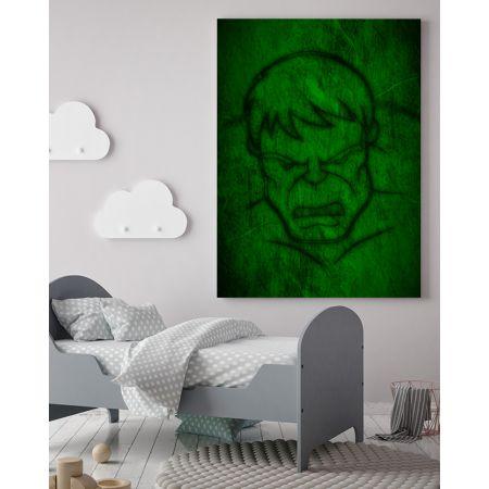 The Incredible Hulk Canvas Art - Marvel Canvas Art