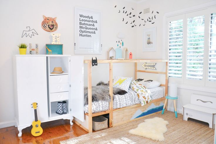 Compact and versatile, it's no surprise that the IKEA Kura bed remains a firm favourite amongst parents for their youngsters. The Kura Reversible Bed can be configured as bunk beds, a loft bed, or with a mattress at the bottom. This budget friendly bed has been styled and hacked in so many different ways. You can paint it, attach a canopy, fairy lights… the possibilities … Read more...