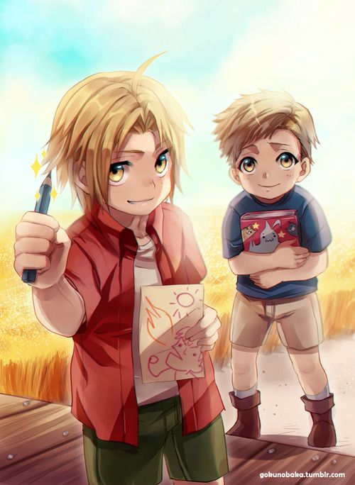 wildestheart4ever:  +FMA Summer memories+ by *goku-no-baka
