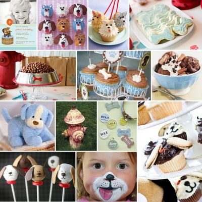 dog party ideas.  Also, good idea is in lieu of gifts, have guests bring supplies for local animal shelter.  :)