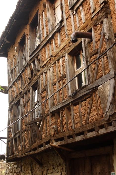 Cumalikizik historic village, Bursa, Turkey - old house