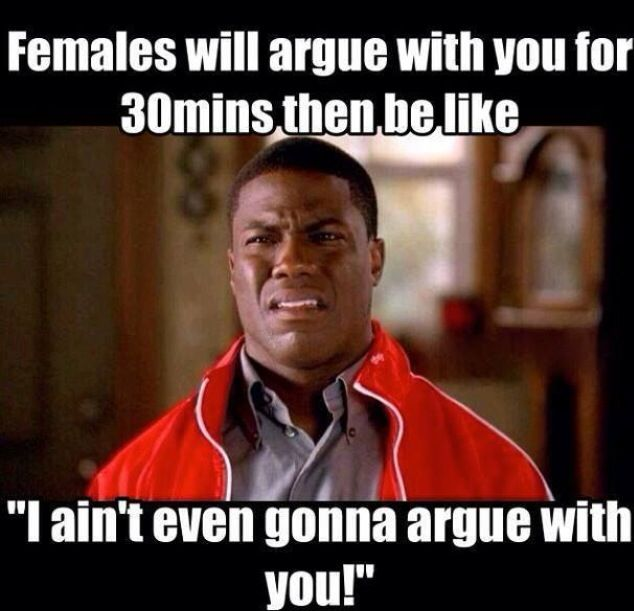 hahah kevin harts view about men and women dynamics are so funny and true