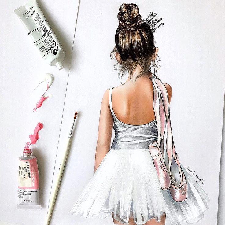 New work✏️Little ballerina