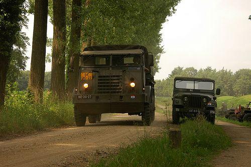 DAF  - Dutch army truck