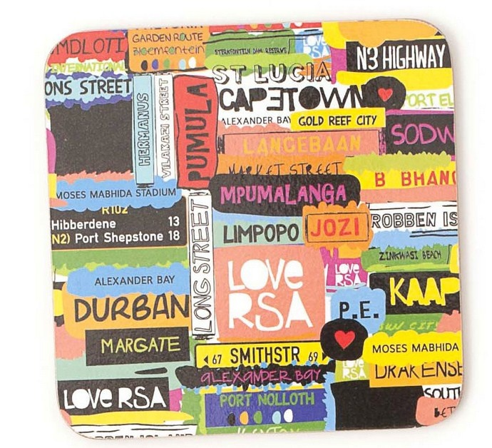 Love RSA Coasters from Mr Price