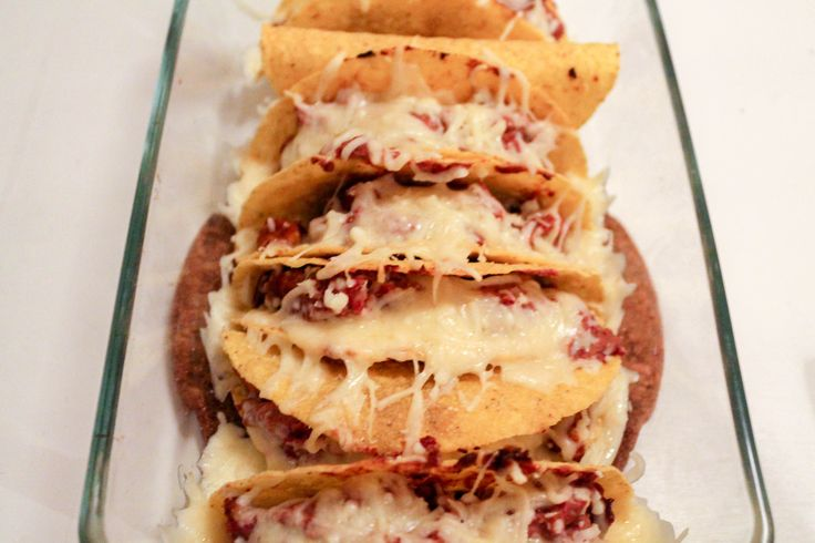 Ovenbaked tacos
