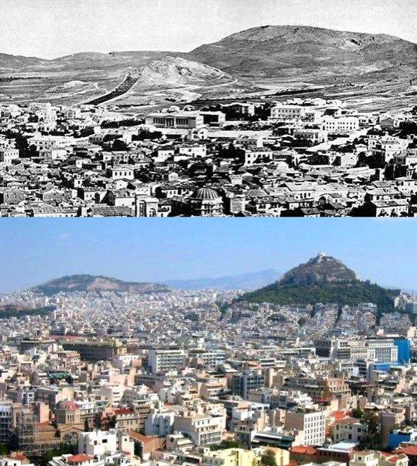11. Atenas, Grécia: 1860-2010